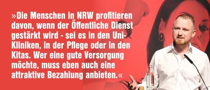 Christian Leye zur Solidarität mit den Landesbeschäftigten in NRW