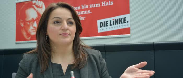 Sevim Dagdelen im Deutschen Bundestag