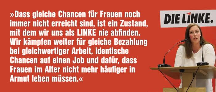 Rede Wiebke Köllner auf der Jahreshauptversammlung der LINKEN Bochum